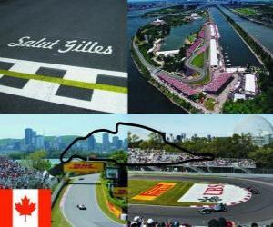 Circuit Gilles Villeneuve - Canada - puzzle