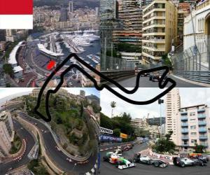 Circuit Monte Carlo - Monaco - puzzle