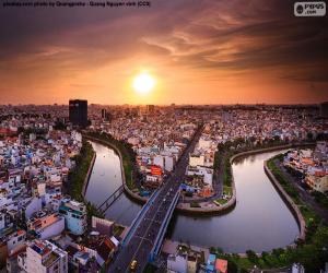 City Ho Chi Minh City, Vietnam puzzle