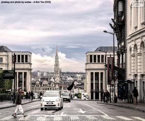 City of Brussels, Belgium puzzle