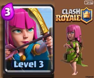 Clash Royale Archers puzzle