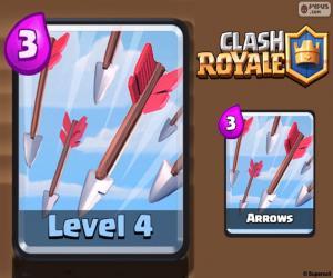 Clash Royale Arrows puzzle