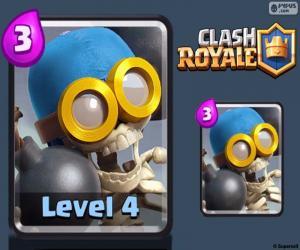 Clash Royale Bomber puzzle