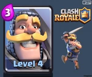 Clash Royale Knight puzzle