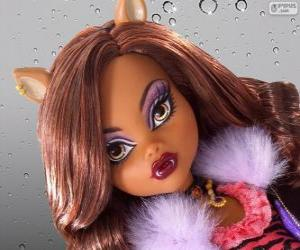 Clawdeen Wolf from Monster High puzzle