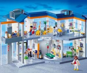 Clinical Playmobil puzzle