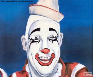 Clown's face puzzle