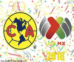 Club America, 2018 Apertura champion puzzle