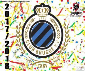 Club Brugge KV, Pro League 2017-2018 puzzle