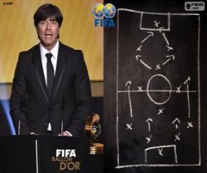 Coach of the Year FIFA 2014 for Men's football Joachim Loew puzzle