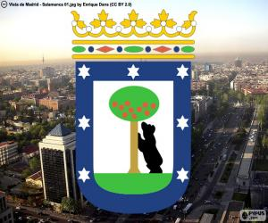 Coat of arms of Madrid puzzle