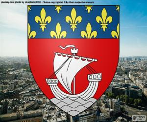 Coat of arms of Paris puzzle