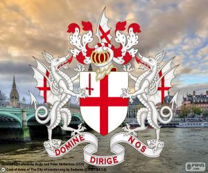 Coat of arms of the City of London puzzle