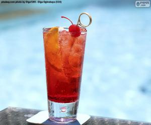 Cocktail by the pool puzzle