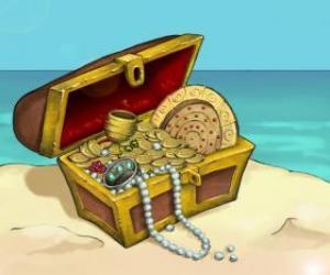 Coffer of the treasure puzzle