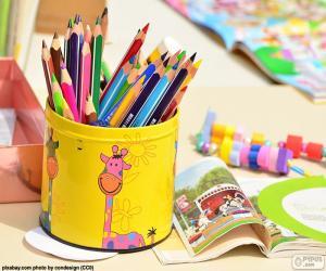Colored pencils puzzle
