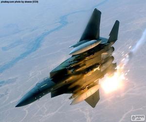 Combat aircraft puzzle