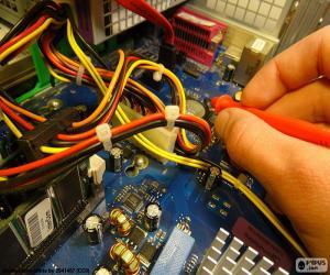 Computer repair puzzle