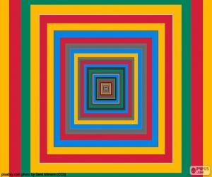 Concentric squares puzzle