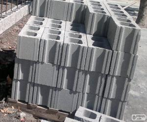 Concrete blocks puzzle