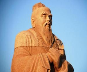 Confucius, chinese philosopher, founder of Confucianism puzzle