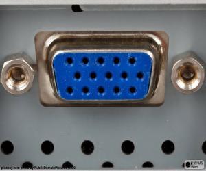 Connector VGA puzzle