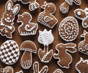 Cookies for Easter puzzle
