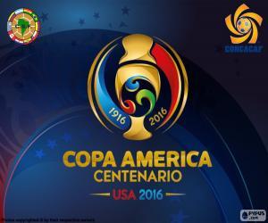 Copa América Centenario 2016 logo puzzle