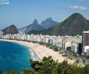 Copacabana, Rio de Janeiro, Brazil puzzle