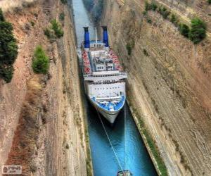 Corinth Canal, Greece puzzle