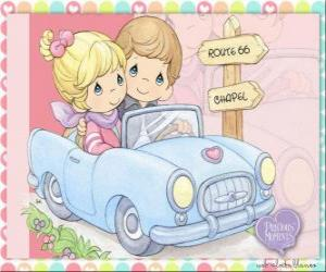 Couple in car puzzle