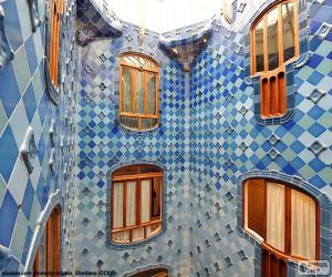 Courtyards, Casa Batlló puzzle