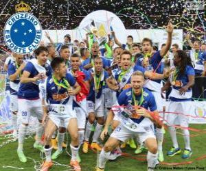 Cruzeiro champion 2014 puzzle