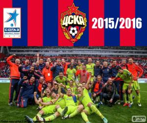 CSKA Moscow, champion 2015-2016 puzzle