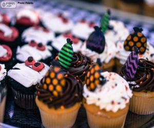 Cupcakes for Halloween puzzle