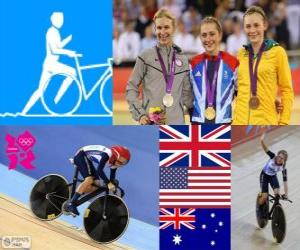 Cycling omnium women's London 2012 puzzle