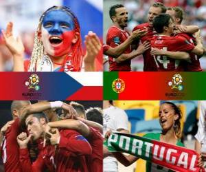 Czech Republic - Portugal, quarter-finals, Euro 2012 puzzle