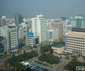 Daejeon, South Korea puzzle