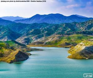 Dam of Kalavasos, Cyprus puzzle