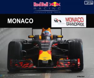 Daniel Ricciardo, 2016 Grand Prix of Monaco puzzle