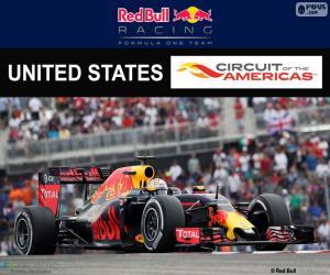 Daniel Ricciardo, United States GP 2016 puzzle
