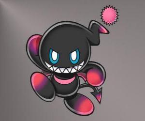 Dark Chao is the evil mascot of Sonic games puzzle