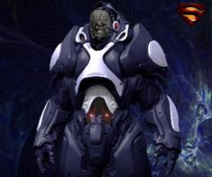 Darkseid, tyrant of a distant world of Apokolips called cosmic gods. puzzle
