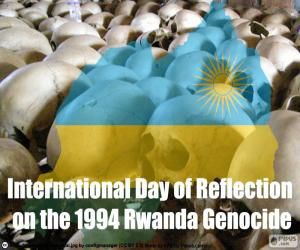 Day of Reflection on the 1994 Rwanda Genocide puzzle