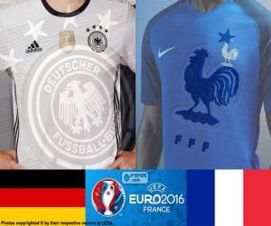 DE-FR, semi-finals Euro 2016 puzzle