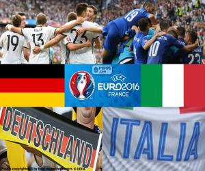 DE-IT, quarter-final Euro 2016 puzzle