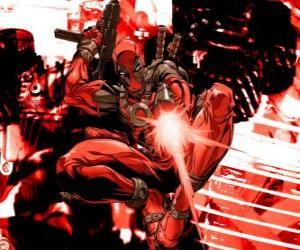 Deadpool is a mercenary or a villain or an anti-hero puzzle