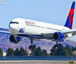 Delta Air Lines, United States airline puzzle