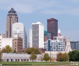 Des Moines, United States puzzle
