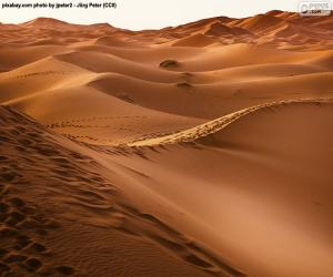 Desert of Morocco puzzle